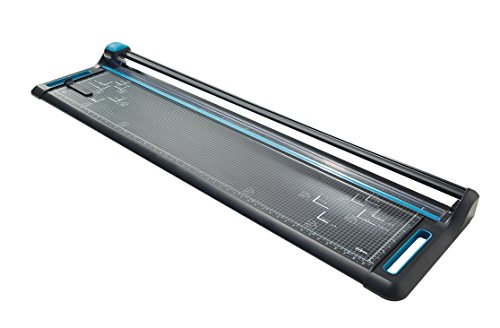 Avery A0 P1370 Precision Trimmer Paper Cutter, Black and Teal from AVERY