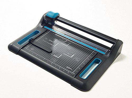 Avery A4 P340 Precision Trimmer Paper Cutter, Black and Teal from AVERY