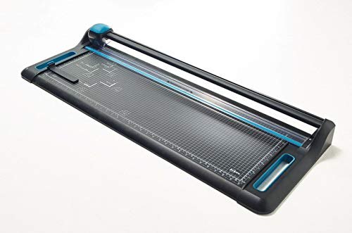 Avery A1 P880 Precision Trimmer Paper Cutter, Black and Teal from AVERY