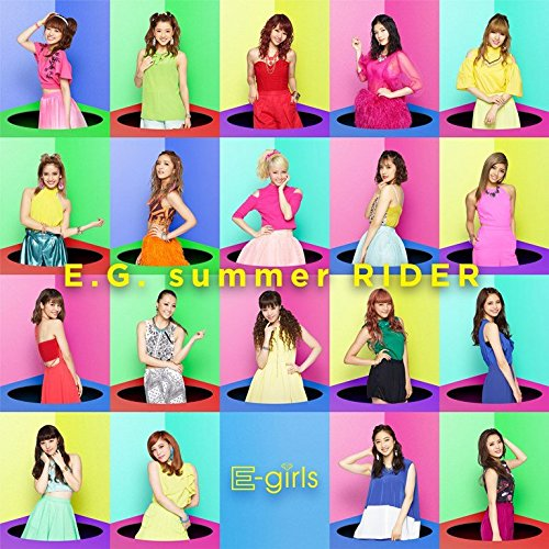 E-Girls - E.G. Summer RIDER (CD+DVD) [Japan CD] RZCD-86135 from Avex Japan