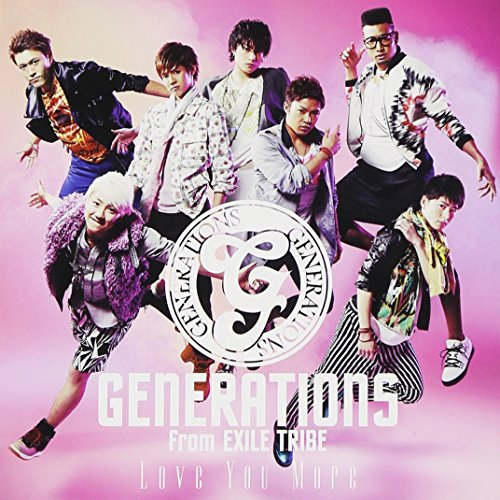 Generations From Exile Tribe - Love You More [Japan CD] RZCD-59397 from Avex Japan