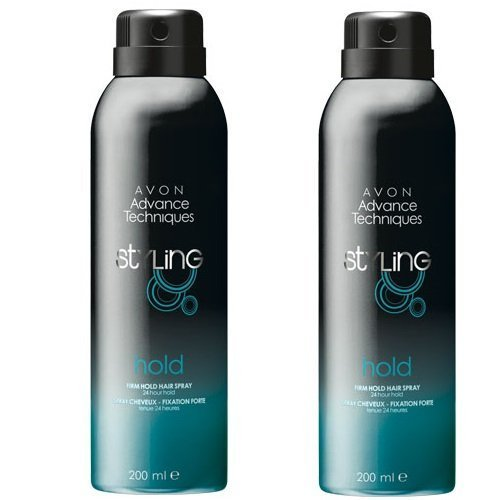 2 X Avon Advance Techniques Firm Hold Hairspray from Avon