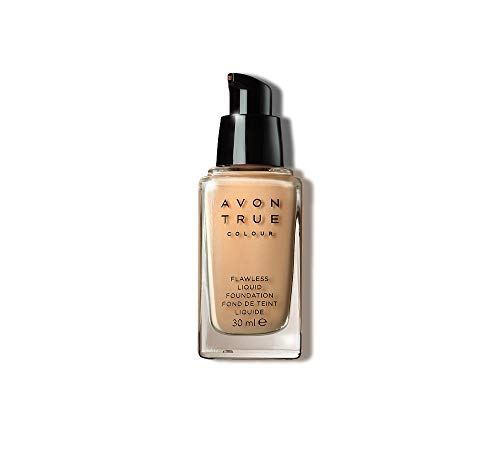 Avon Ideal Flawless Invisible Coverage Liquid Foundation in Medium Beige from Avon