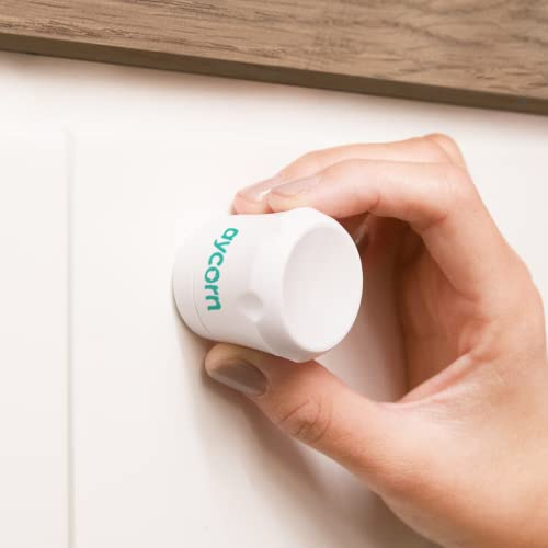 AYCORN Child & Baby Safety Proof Magnetic Cupboard Locks, 10 locks & 2 Keys, Easy Install in Seconds, BONUS Instruction Video, Latest Design to Protect Your Kids & Toddlers, No Screws or Drilling from Aycorn