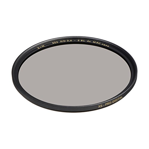 B+W 67mm 0.6-4X Multi-Resistant Coating Nano Camera Lens Filter, Gray (66-1089160) from B+W
