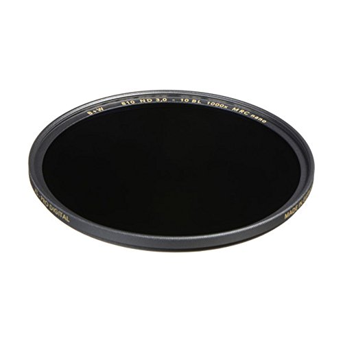 B+W 49mm 3.0-1000x Multi-Resistant Coating Nano Camera Lens Filter, Gray (66-1089242) from B+W