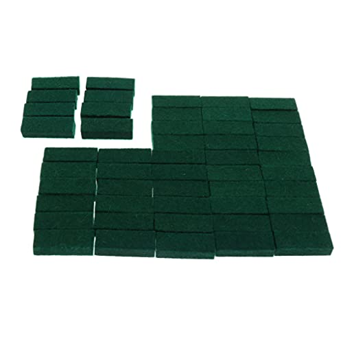 50 Pieces Upright Piano Damper Felt Set Tuning Tool Accessory for Piano 28x10x7mm from B Blesiya