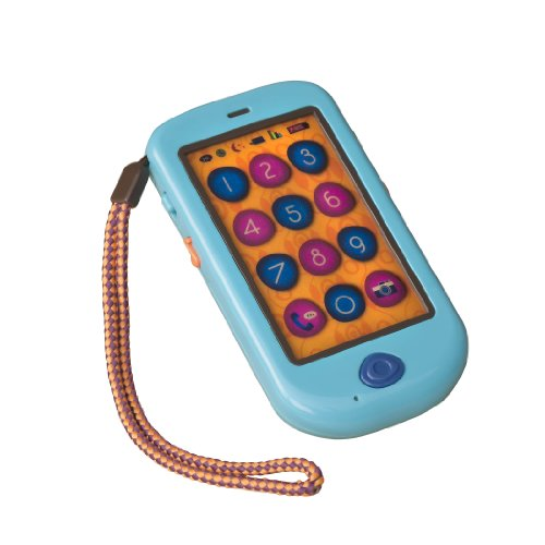 B. toys by Battat - HiPhone - Touch Screen Toy Cell Phone for Toddlers 18 months + from B. toys by Battat