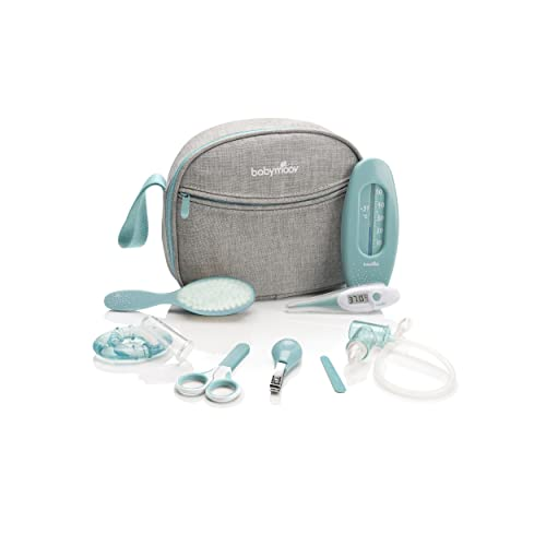 Babymoov Baby Healthcare and Grooming Set, Grey/Blue from Babymoov