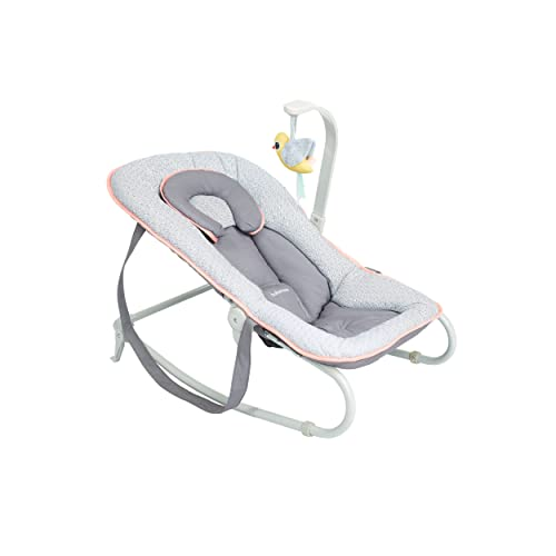 Babymoov A012432 Graphik Bouncer, Peach from BABYMOOV