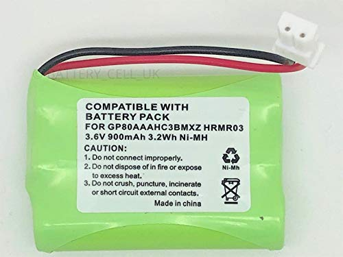MOTOROLA BABY MONITOR MBP43 COMPATIBLE BATTERY 900mAh 3.6V from BATTERY VOLT