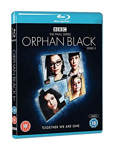 Orphan Black Series 5 [Blu-ray] [2018] from BBC