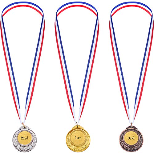 Gold Sliver Bronze Olympic Style Metal Winner Medals Gold Sliver Bronze Awards from BBTO