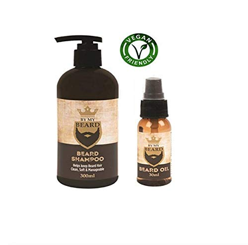 Be My Beard Beard Shampoo & Beard Oil Complete Beard Kit Ideal for Beard's from BE MY BEARD