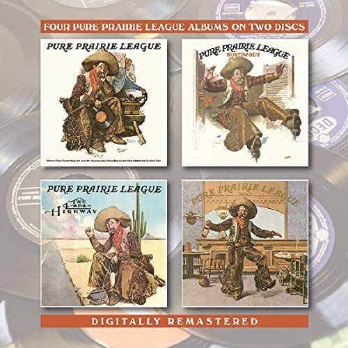 Pure Prairie League / Bustin' Out / Two Lane Highway / Dance from BGO