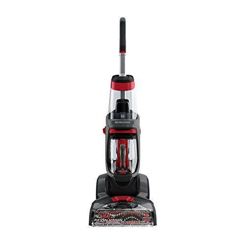 BISSELL ProHeat 2X Revolution | Upright Cleaner | Carpets Dry in About 30 Minutes | Powerful Suction for Professional Results | 18583, Plastic, 800 W, 4.5 liters, Titanium/Red Berends from BISSELL
