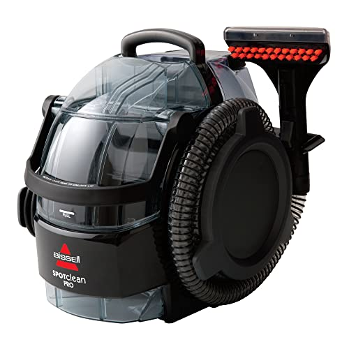 BISSELL SpotClean Pro | Our Most Powerful Portable Carpet Cleaner | Remove Spots, Spills & Stains | Clean Carpets, Stairs, Upholstery, Car Seats & More | 1558E from BISSELL