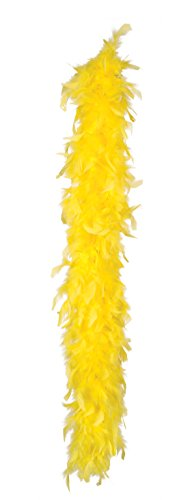 Boland 52701 – Feather Boa, 180 cm – Yellow from Boland