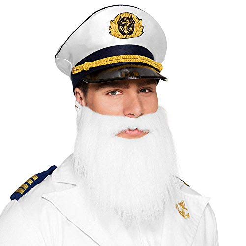 Boland 10116625 BOL01842 01842 Bart Captain Costume, One Size, White from Boland