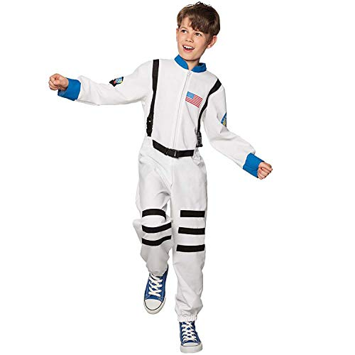 Boland 10118010 BOL82272 Astronaut Costume Child, Kid, White, 4-6 Years from Boland