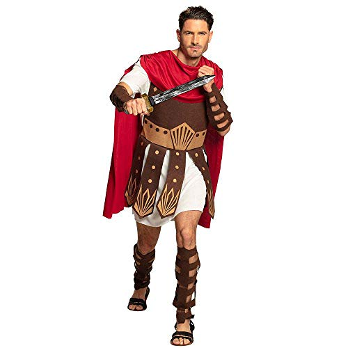 Roman Gladiator White Mens Fancy Dress Centurion Warrior Adult Costume from Boland