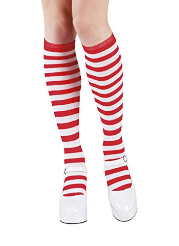 Boland Aptafetes AC1700/red Red Clown Socks, multicolour, one size, 10103527 from Boland