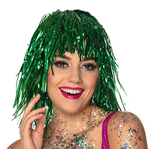 Green Saint Patrick wig for women from Boland
