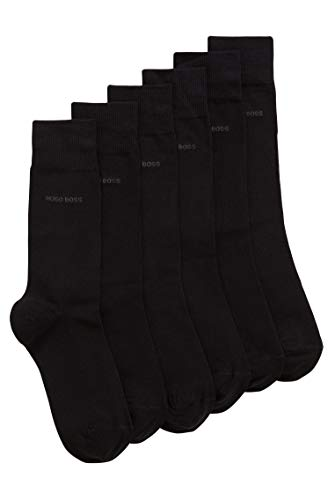 BOSS Men's RS Uni SP CC Calf Socks, (Black 001), 47/50 (Pack of 3) from BOSS