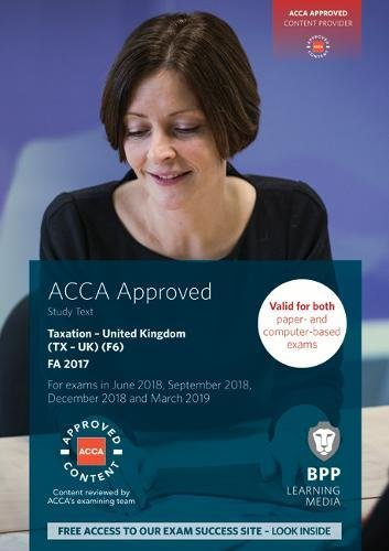 ACCA F6 Taxation FA2017: Study Text from BPP Learning Media