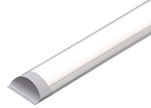 LED Batten Slim LINE Wall OR Ceiling Tube Lights in 2FT 18W | 4FT 36W | 5FT 45W | 6000K Cool White HIGH LUMENS 40000 HRS Life Span 3 Years Warranty (2FT 60 cm) from BRIGHTLITE