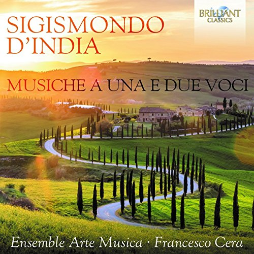 D'India: Musiche a una e due voci from BRILLIANT CLASSICS