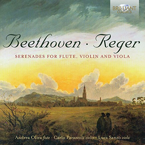 Reger; Beethoven: Serenades For Flute, Violin And Viola from BRILLIANT CLASSICS