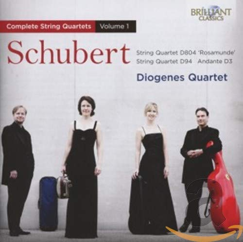 Schubert: String Quartets Vol. 1 from BRILLIANT CLASSICS