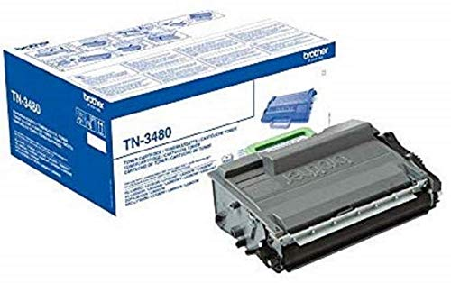 Brother TN3480 Toner Cartridge | High Yield | Black | Brother Genuine Supplies from Brother