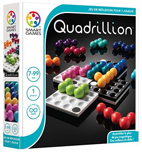 Smartgames - SG 540 FR - Quadrillion - Thinking Game Of Logic And Sorting from smart games