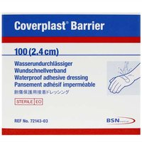 Coverplast Barrier Waterproof Adhesive Dressings (100x 2.4cm Spot) from BSN Medical