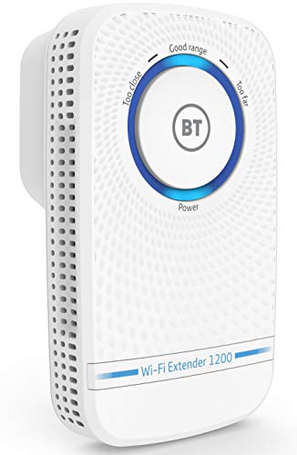 BT Wi-Fi Extender 1200 with 11ac 1200 Dual-Band Wi-Fi from BT