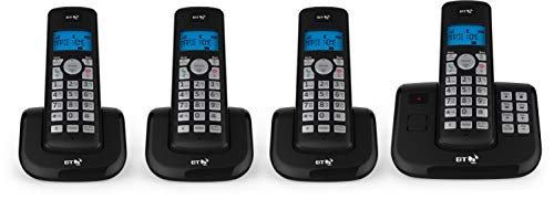 BT 3560 Quad Digital Cordless Answerphone With Nuisance Call Blocker from BT