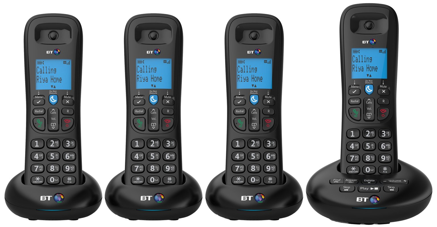 BT - 3570 - Cordless Telephone & Answer Machine - Quad from BT