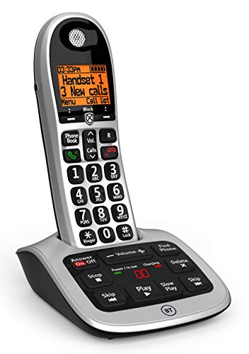 BT 4600 Big Button Advanced Call Blocker Cordless Home Phone with Answer Machine from BT