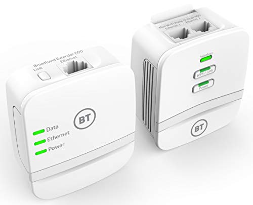 BT Mini Wi-Fi Home Hotspot 600 Kit with wired AV600 Powerline and N150 Wi-Fi from BT