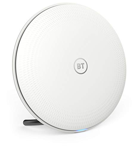 BT Whole Home Wi-Fi, 1 additional Disc for use with existing BT Whole Home Wi-Fi, Mesh Wi-Fi for seamless, speedy (AC2600) connection, App for complete control and 2 year warranty from BT