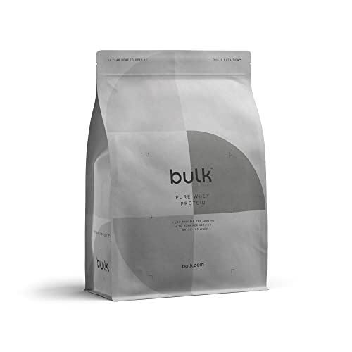 BULK POWDERS Pure Whey Protein Powder Shake, Vanilla, 1 kg from BULK POWDERS
