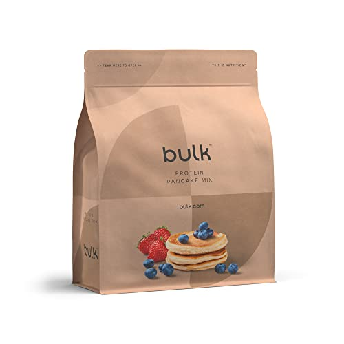 BULK POWDERS High Protein Pancake Mix, Maple, 500 g from BULK POWDERS