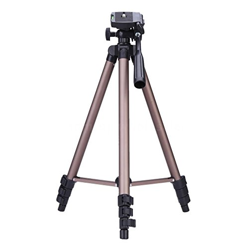 Multi-Functional Protable Lightweight Aluminum Camera Tripod Compatible with Canon EOS 4000D 2000D,100D,250D,200D, 1300D 1200D 700D 650D 800D 750D 80D 77D 60D 70D,7D , Nikon D810 D850,D610 D600 D7200,D7500,D5600 D5300 D5500,D3400,D3300 D3500,D3100,FUJI FinePix X-S1,HS50,SL1000, Panasonic FZ82 FZ2000,OLYMPUS ,Sony a7,a9 & more DSLR. from BV & Jo
