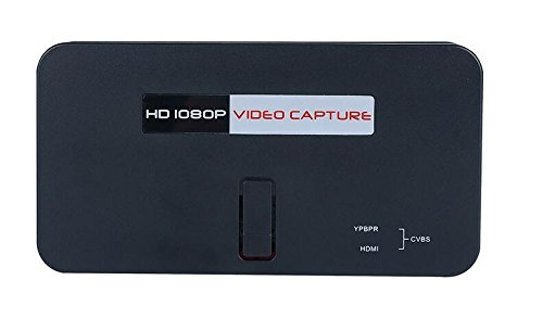 BW 1080P HD Video Capture Device - HDMI, YPBPR, SD Card, One Button Record, USB, Remote Control from BW