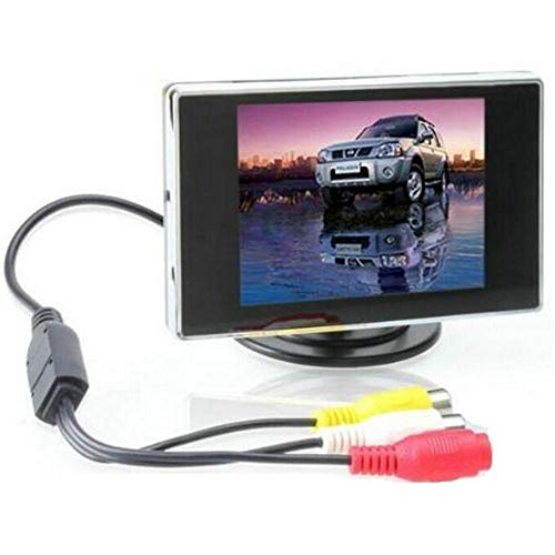 "BW 3.5"" TFT LCD Car Rear View Color Camera Monitor & DVD, 3.5 Inch LCD Monitor Car Monitor for Car / Automobile from BW"