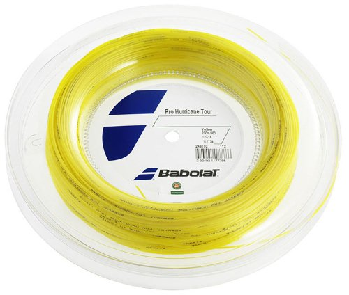 Babolat Pro Hurricane Tour String Reel - Yellow, 1.3 Mm/200 M from Babolat