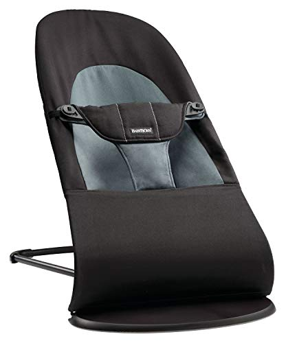 BABYBJÖRN Bouncer Balance Soft (Black/Dark grey, Cotton) from Baby Bjorn