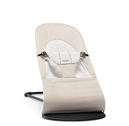 BABYBJÖRN Soft Balance Bouncer (Beige/Grey, Cotton/Jersey) from Baby Bjorn